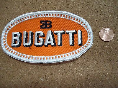 Vintage Bugatti Patch New Old Stock