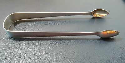 "Superb British Sterling Silver Tongs 1812 Joseph Hicks Exeter 5.75"" 34 grams"
