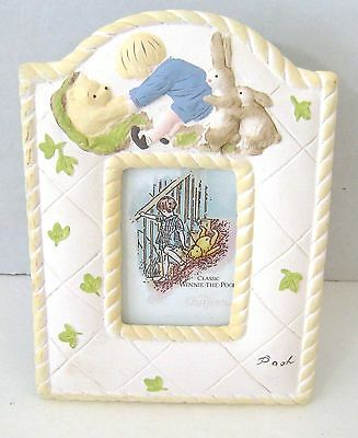 CHARPENTE Winnie-the-Pooh Picture Frame Classic! Baby Nursery Decor Photo
