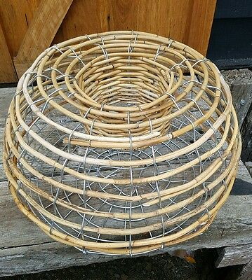 Cane and Steel wire NSW VIC  Lobster Pot crayfish Fishing Trap