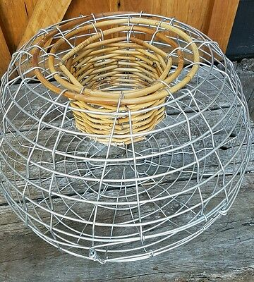 4mm wire NSW VIC Galv Steel Lobster Pot crayfish Fishing Trap