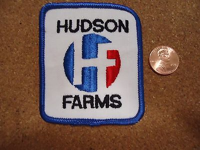 Vintage Hudson Farms Patch New Old Stock