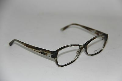 aac5657537fa NEW VERSACE MOD. 3176 5042 POLISHED BLACK GREY EYEGLASSES AUTHENTIC Rx 53-16