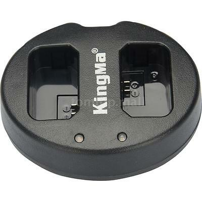 KingMa Dual 2-Channel NP-FW50 Battery Charger for Sony A5000 NEX6 5T Camera L6C7