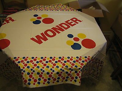 Hostess Wonder Bread Tablecover