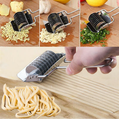 Stainless Steel Rotary Press Food Machine Herb Chopper Pasta Make Noodle Cutter