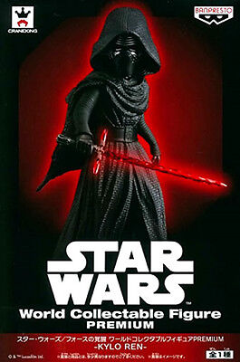 STAR WARS KYLO REN World Collectable Figure PREMIUM Banpresto BIG SIZE