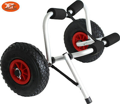 New Collapsible Kayak Trolley Canoe Wheel Cart Boat Carrier-JET2203