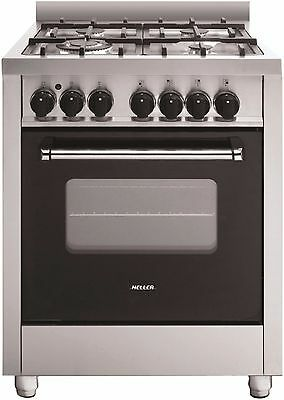 Heller 60cm Freestanding Electric Oven with Gas Hob HGH60GE