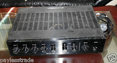 Toa A-512A 500-Series Power Amplifier/amp For Pa-Live-Broadcast-Studio