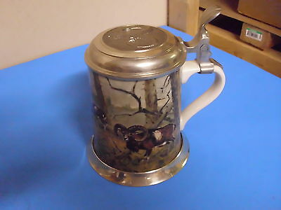 Kaiser West Germany Beer Stein 5 3/4 Inches