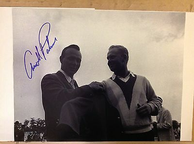 Arnold Palmer Autographed/signed 11 X14 Photo