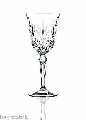 RCR Crystal Melodia White Wine Stemmed Glasses, Set of 6 - 25601020006