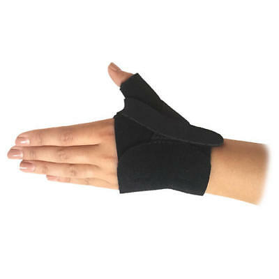 Solace Bracing Black Long Term Thumb Wrist Injury Tennis Golfers Elbow Support