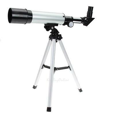 Refractive Monocular Astronomical Telescope Spotting Scope With Portable Tripod