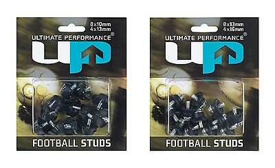 12 X FOOTBALL SOCCER BOOT REPLACEMENT NYLON REMOVABLE STUDS plastic stud