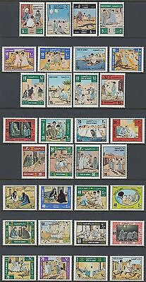 Kuwait 1977 ** Mi.693/24 Kinder Children Spiele Games