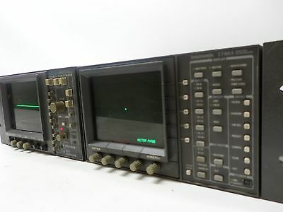 Tektronix 1740A Waveform / Vector Monitor with Component Monitor 1740A