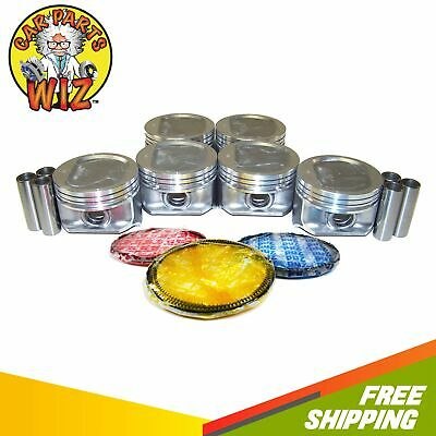 Pistons and Rings Fits 96-06 JEEP Cherokee Grand Cherokee Wrangler 4.0L OHV