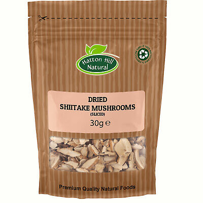 Dried Sliced Shiitake Mushrooms 30g