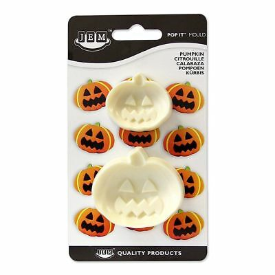 Jem Cake & Sugarcraft Pop It™ Mould Pumpkin Cutters Set of 2 Cupcake Toppers