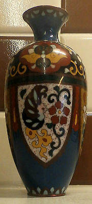 Nice Quality Early 20th Century Chinese Cloisonne Vase
