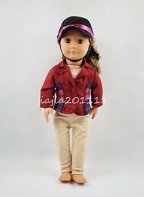 Riding Gear For 18'' American Girl Dolls Clothes Gift
