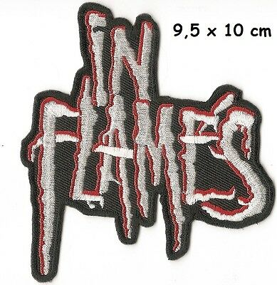 In Flames - patch - FREE SHIPPING