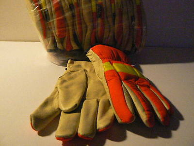 3m Winter Thinsulate  Lined Warm Gloves  XL  12 pair
