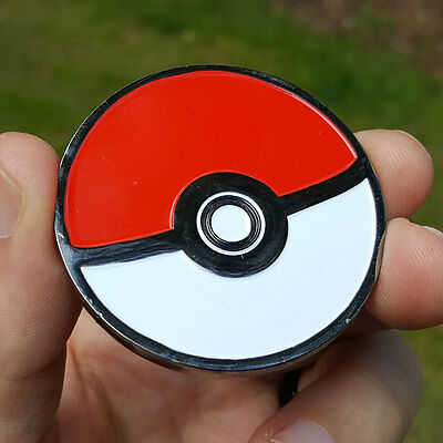 PREMIUM Pokemon Go Pokeball Team Valor Poker Card Protector Coin NEW