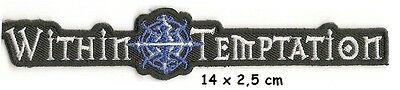 Whitin Temptation - Logo patch - FREE SHIPPING