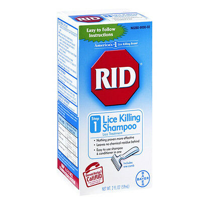 RID Lice Killing Shampoo, Step 1, 2oz 074300004129T566