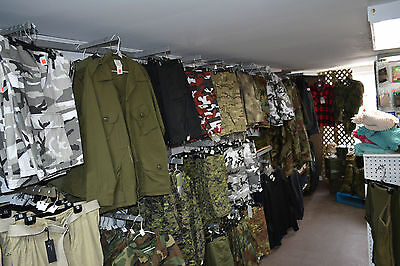 Military surplus store inventory for sale 2000 Sq.ft