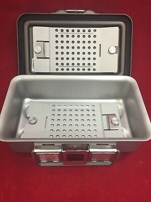"NEW V. MUELLER Genesis Mini Sterilization Container 10.5""x7.5"" 3"" Deep CD0-3B"