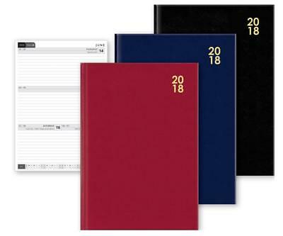 2018 A4/a5/a6 Hardback Diary Week To View Or Day To Page Home Office Work Planne