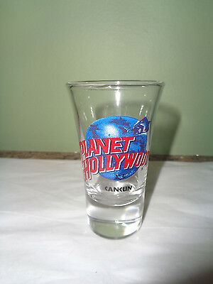 Planet Hollywood - Cancun - Tall Shot Glass