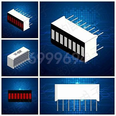 5pcs New 8-Segment Red Color Bar LED