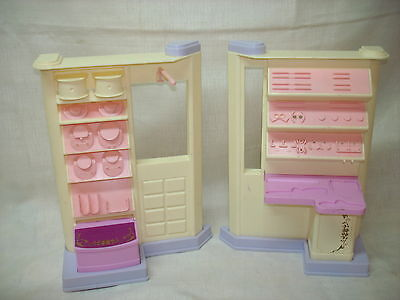 Barbie T S Toys Jewelry Shop Store Display Furniture Set