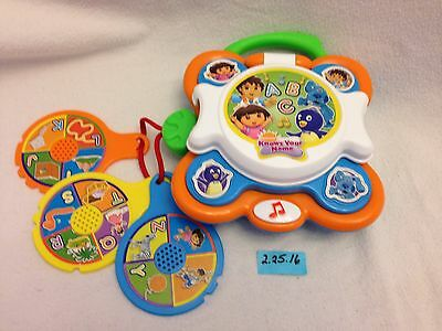 Dora Nickelodeon Knows Your Name A,B,CD Music Player Fisher-Price Downloadable