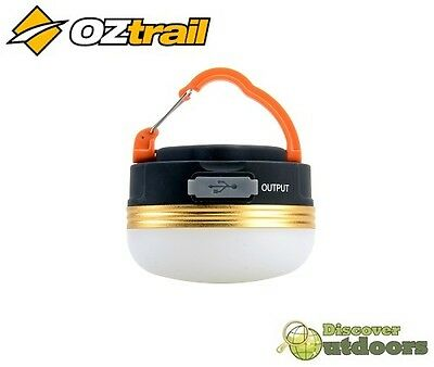 New OZtrail Rechargeable Tent Light - Camping LED Lighting - USB
