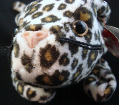 Ty Beanie Babies Freckles  w/ hang tag error, Leopard-FREE SHIPPING