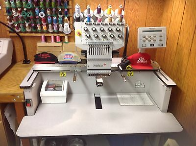 Melco embroidery machines EMC10T  EMT10T  EDS IV Xtreme