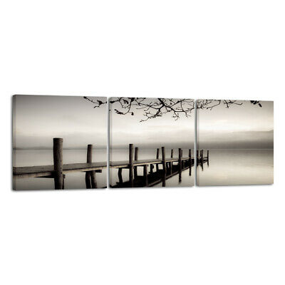 Canvas Print Wall Art Home Decor Painting Picture Photo Landscape Bridge Framed