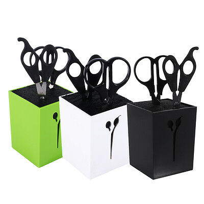 Pro Hairdressing Combs Clamps Barbers Scissor Holder Stand Scissors &Accessories