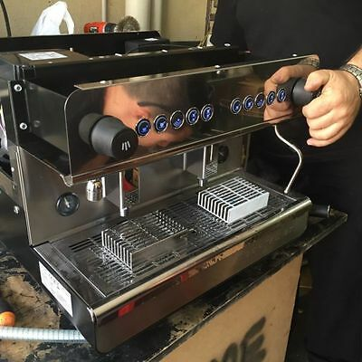 Bargain Cheap New 10amp 2 Group High Cup Commercial Coffee Machine