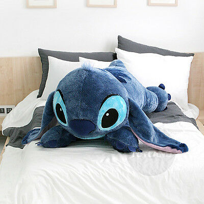 [Limited Sale] Disney Stitch 120cm 47in Giant Lying Plush Doll + Expedited ship