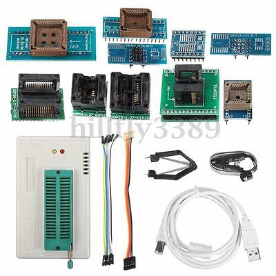 TL866A High Speed Programmer USB EPROM EEPROM FLASH BIOS Programmer with Clip US