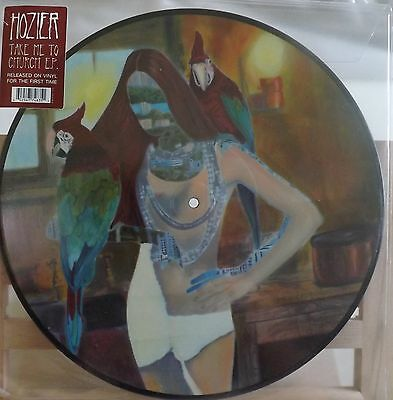 """Hozier Take Me To The Church 12"""" Vinyl Picture Disc Rsd 2016"""