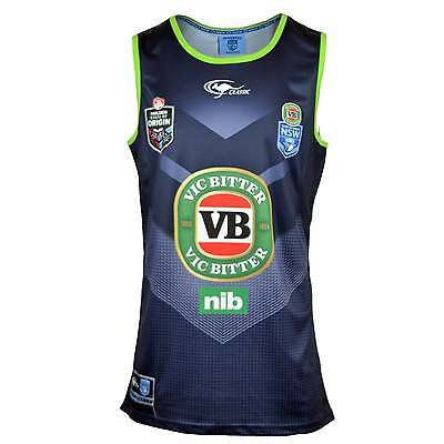 Classic Sportswear New South Wales Blues Rugby League Training Singlet - Navy
