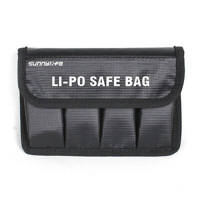 Battery Lipo Fire Resistance Storage Bag Case for DJI OSMO/ OSMO+ Moblie Raw Pro